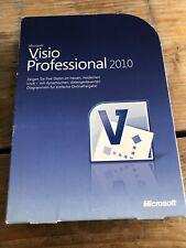 Microsoft Visio Professional 2010, Box, deutsche Vollversion mit MwSt-Rechnung