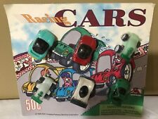 Vintage 1996 Racing Cars A&A Parkway Machine Corp Vending New