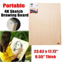 Portable Artist 4k Sketch Drawing Board Art Painting Beech Wood Studio Outdoor