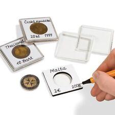 Leuchtturm (344001) capsules QUADRUM NOTE pour pièces de monnaie de diamètre int