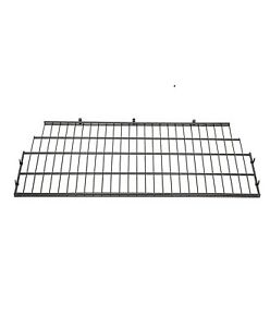 Suncast Vertical Storage Shed Organization Metal Wire Rack Shelving (Open Box)
