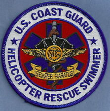 U.S. COAST GUARD HELICOPTER RESCUE SWIMMER PATCH
