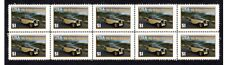MG N-TYPE MAGNETTE AUTO ICON STRIP OF 10 MINT VIGNETTE STAMPS #1