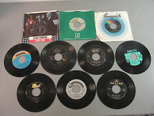 🎙️ RECORD 45 RPM VINYL 50-70's CLASSIC EARLY SOFT ROCK POP SOUL DOO-WOP LOT 10