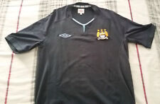 MANCHESTER CITY 2010-2011 AWAY SHIRT JERSEY TRIKOT MAGLIA UMBRO TG. 40