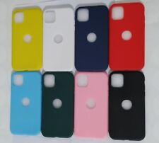 Funda Carcasa Case Silicona Compatible Con Iphone 5 6 7 8 11 X Plus Color Moda
