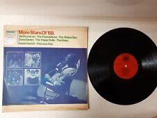 "VINYL LP 12"" 33 MORE STARS OF 68   ---THE KINKS/STATUS QUO & MORE  ***ISRAEL***"