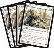 4 x To Arms! uncommon instant from Guildpact (MTG)