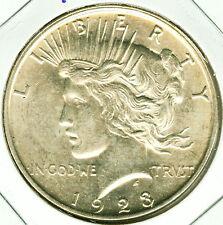 1923 D Peace Silver Dollar - UNC+++