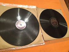 """MALCOLM SARGENT, JAMES JOHNSTON """"Messiah"""" (Handel) 2x12"""" 78rpm 1946 DX8237/38 NM"""