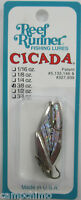 "REEF RUNNER CICADA BLADE BAIT LURE 3/8 OZ. 1-3/4"" GOLD/CHARTREUSE C4-201"