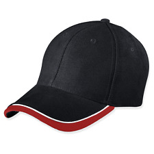 Myrtle Beach © half-pipe sandwich cap | Cappy | capuchón | negro/blanco/rojo