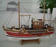 Fischerboot Fischkutter Kutter Boot Maritim Schiff Dekoration Neu No.14