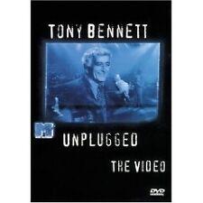 TONY BENNETT MTV Unplugged The Video DVD BRAND NEW