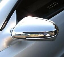 US STOCK x2 CHROME Door Mirror Covers Mercedes R230 R171 W219 SL SLK CLS C207 E
