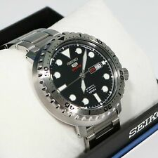 Seiko 5 Bottle Cap Automatic Stainless Steel Men's Watch Srpc61K1