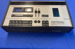 TANDBERG TCD 310MKll Working Norwegian Built Vintage Stereo Cassette Deck