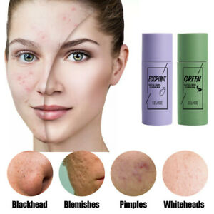 Green Tea Purifying Clay Stick Mask Anti-Acne Deep cleansing Oil control NEW