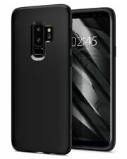 Custodia Samsung Galaxy S9 PLUS Spigen [Liquid Crystal] Cover Protezione - NERO