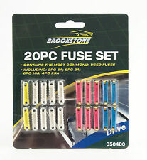20 Pc Ceramic Continental Car Fuse Set Brookstone For Home,Car,Office,Camping Uk
