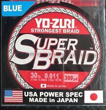 YO-ZURI SUPERBRAID 30lb 300yds 8 Ply