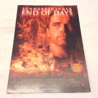 End of Days Arnold Schwarzenegger Gabriel Byrne 1999 Danish Movie Press Release