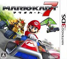 Mario Kart 7 (Nintendo 3DS, 2011) - Japanese Version