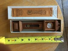 Doll House Furniture Reevesline Grand-Father Clock Wood Clock Face