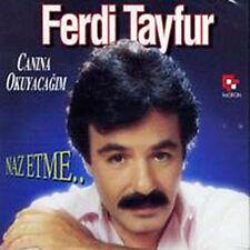 FERDI TAYFUR SERISI - NAZ ETME - CANINA OKUYACAGIM - CD ALBEN