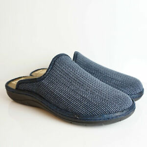 DIAMANTE SLIPPERS MAN BLUE FOOTBED EXTRASOFT