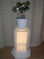 Blumenständer Standsäule Blumensäule Beistelltisch Telefontisch beleuchtet Antik