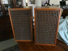 Altec Lansing 874A Segovia 'Matched' Speaker Pair, Beautiful, Tested 8ohms+