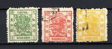 China contempory Forgery set for Reference of the Large Dragon stamps SOLD AS IS