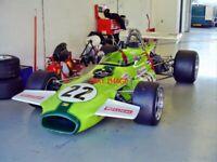 PHOTO  HSCC SILVERSTONE 20.10.07  IAN GRAY'S F2 BRABHAM BT30/11 WAS RACED BY JOH