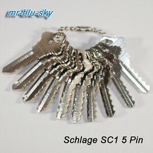 Schlage SC1 Space and Depth Keys ~ DSD#060, C45