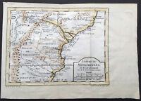 1747 Bellin Antique Map of The Empire of Mutapa or Monomotapa SE Africa Zimbabwe