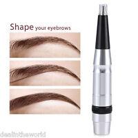 Semi-permanent Eyebrow Lip Tattoo Makeup Machine Pen Kit Power Supply Body Art