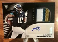 2020 Black Laviska Shenault /99 Rookie 4 Color Patch Auto RPA 🔥🔥🔥