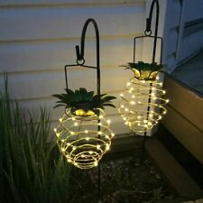 Pineapple Garden Solar Lights Pathway Outdoor Led Lamp Waterproof Walkway Decor