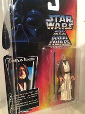 Star Wars Ben Obi-Wan Kenobi Long Saber POTF Red Card 1995 Tri Foreign Card