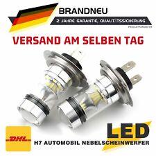Paar H7 120W 24000LM Auto LED Scheinwerferlampen SMD Kit 6000K Weiß DE