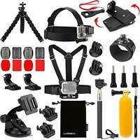 Luxebell Accessories Kit for AKASO EK5000 EK7000 4K WiFi Action Camera Gopro