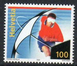 SWITZERLAND MNH 2005 SG1643 Football for the Visually Impaired
