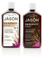Jason Natural 2 in 1 Anti Dandruff Shampoo Relief Calming Hair Care Product UK