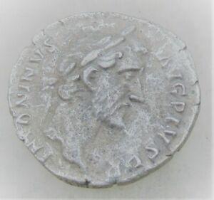 UNRESEARCHED ANCIENT ROMAN SILVER DENARIUS COIN 2.46G