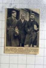 1927 The Schneider Trophy Team Flight Lieutenant Webster Photographed At Croydon