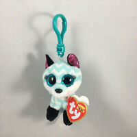 2021 Ty Beanie Boos ATLAS the Fox Key Clip Plush Stuffed Animal (3 Inch) MWMTs