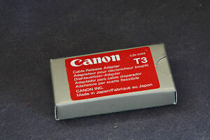 CANON T3 CABLE TO ELECTRIC ADAPTOR