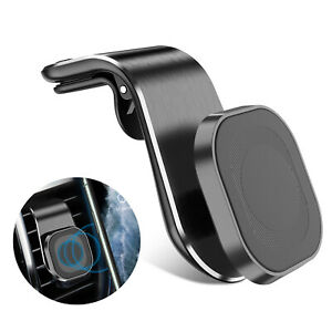 In Car Magnetic Phone Holder Fits Mount Air Vent Bracket For iPhone Android Mob