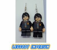LEGO Custom Dangle Earrings - Harry Potter Minifigure - FREE POST